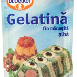 Gelatina alba fin maruntita Dr.Oetker 10g