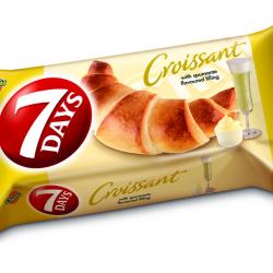 Croissant cu crema de vin spumant