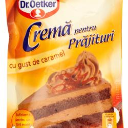 Crema pentru prajituri cu gust de caramel Dr.Oetker