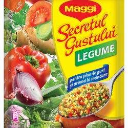 Secretul gustului cu legume Maggi