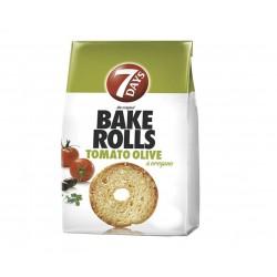 Bake Rolls rosii masline si oregano 7Day 80g