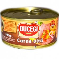 Pate carne de vita Bucegi 300 Gr