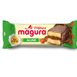 Prajitura cu crema de alune Magura