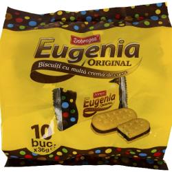 Biscuiti cu crema cacao Dobrogea Eugenia 360g