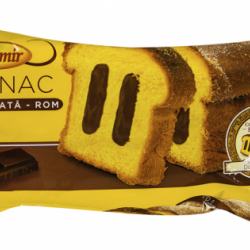 Cozonac cu crema de ciocolata - rom Boromir