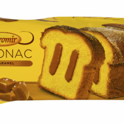 Cozonac cu crema caramel Boromir