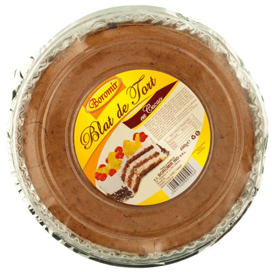 Blat de tort cu cacao Boromir