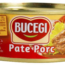 Pate de porc Bucegi 120 Gr