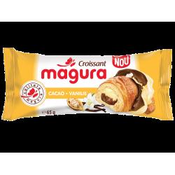 Croissant cu crema de cacao si vanilie Magura