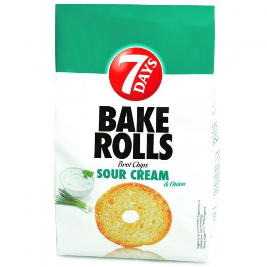 Bake Rolls SOUR CREAM 7Day 80g