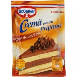 Crema pentru prajituri cu gust de ciocolata Dr.Oetker