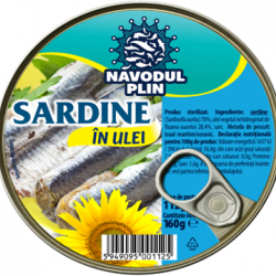 Conserva de Sardine in ulei