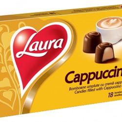Bomboane cu crema de cappuccino Laura 140g