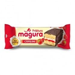 Prajitura cu crema de capsuni Magura