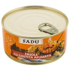 Costita afumata cu fasole Scandia Sibiu 300g